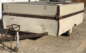 Project 1974 Coleman Popup Camper with clear title for Sale in Euless, TX