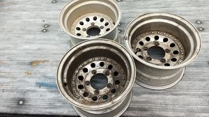 Aluminum 5x5.5 5x5-1/2 Ford Dodge Jeep rims wheels 15x10 for Sale in Aberdeen, WA