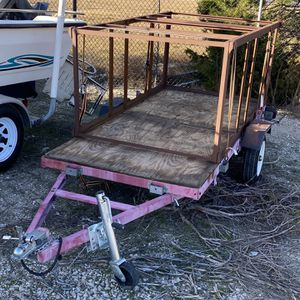 Harbor Freight Folding Utility Trailer for Sale in The Colony, TX