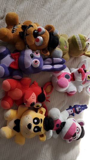 Five Nights At Freddy Plushies for Sale in Nashville, TN
