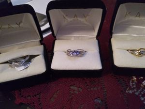 Rings and necklace for Sale in Davenport, IA