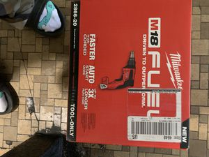 Brand new Milwaukee dry wall screw gun for Sale in Washington, DC