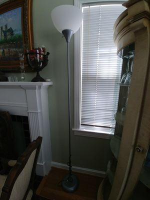 Silver Floor Lamp for Sale in Houston, TX