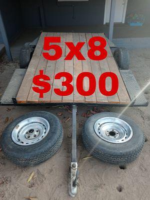 5x8 utility trailer for Sale in San Bernardino, CA
