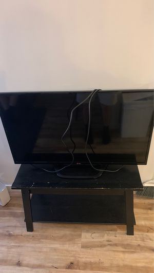 LG TV and Stand for Sale in Seattle, WA