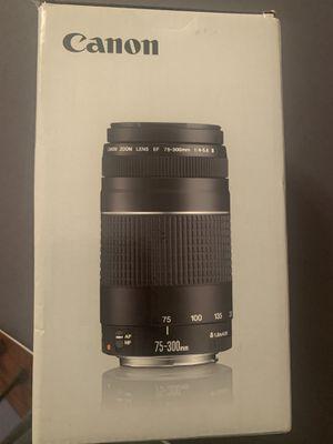 Canon EF 75-300mm f/4-5.6 III for Sale in Upper Marlboro, MD