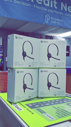 Xbox Chatting Headset! BRAND NEW IN BOX! for Sale in Arlington, TX