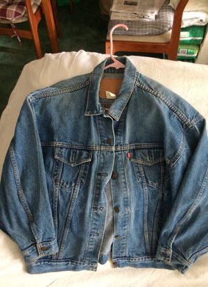 Original Levi Jean jacket for $150 for Sale in HILLTOP MALL, CA