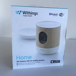 Withings Home HD Camera With Air Quality Sensors Model WBP02-APPLE for Sale in Santa Cruz,  CA