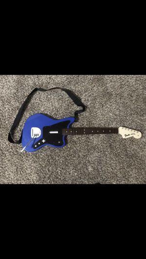 Rock Band 4 PS4 Blue Fender Jaguar Wireless Guitar for Sale in Bakersfield, CA