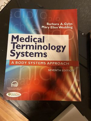 Medical terminology systems textbook for Sale in Aurora, CO