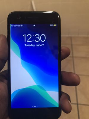 iPhone 7 unlocked cricket wireless I accept checks for Sale in Glen Burnie, MD