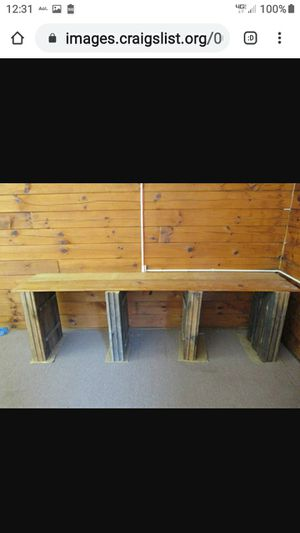 3 NATURAL LOG TABLES for Sale in Lynchburg, VA