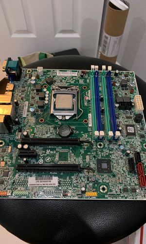 I5 4590 cpu and Lenovo thinkcentre motherboard for Sale in Baton Rouge, LA
