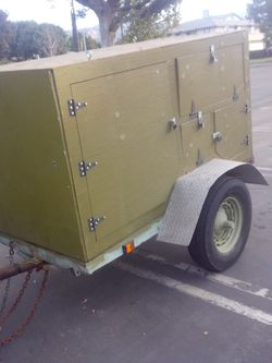 Military pull along trailer trade motorcycle for Sale in Covina,  CA
