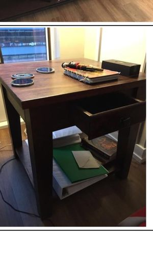 Solid wood side/end table for Sale in Philadelphia, PA