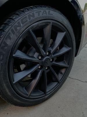 Mustang rims and tires for Sale in San Bernardino, CA