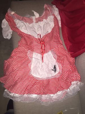 Halloween costume - little red riding hood. for Sale in Whittier, CA