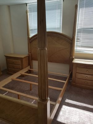 Bed Set Solid Wood for Sale in Hallandale Beach, FL