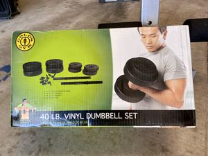 Golds Gym Dumbbell Set for Sale in Phoenix, AZ
