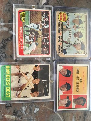 Mickey Mantle cards for Sale in Greer, SC