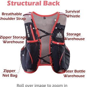 TRIWONDER Hydration Pack Backpack 5L Lightweight Deluxe Marathoner Running Race Hydration Vest (L-XL) for Sale in Winston-Salem, NC