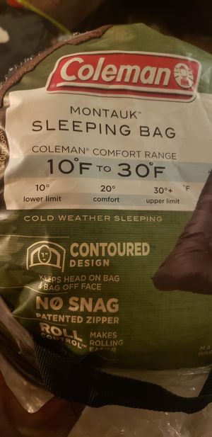 Coleman Sleeping bag for Sale in Silver Spring, MD
