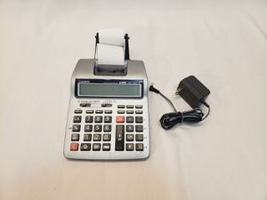 Casio Printing Calculator Model HR-100TM for Sale in Golf, IL