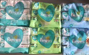 Pamper baby wipes 3 count for Sale in Lehigh Acres, FL