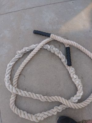 Heavy rope about 10 feet for crossfit workout for Sale in Bell, CA