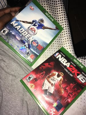 Both together Xbox one for Sale in Tampa, FL