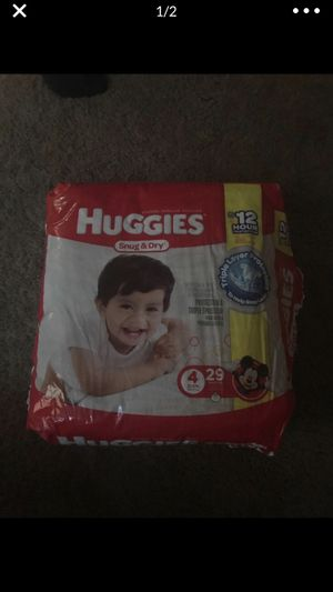 Huggies Snug and Dry size 4 diapers for Sale in Broomfield, CO