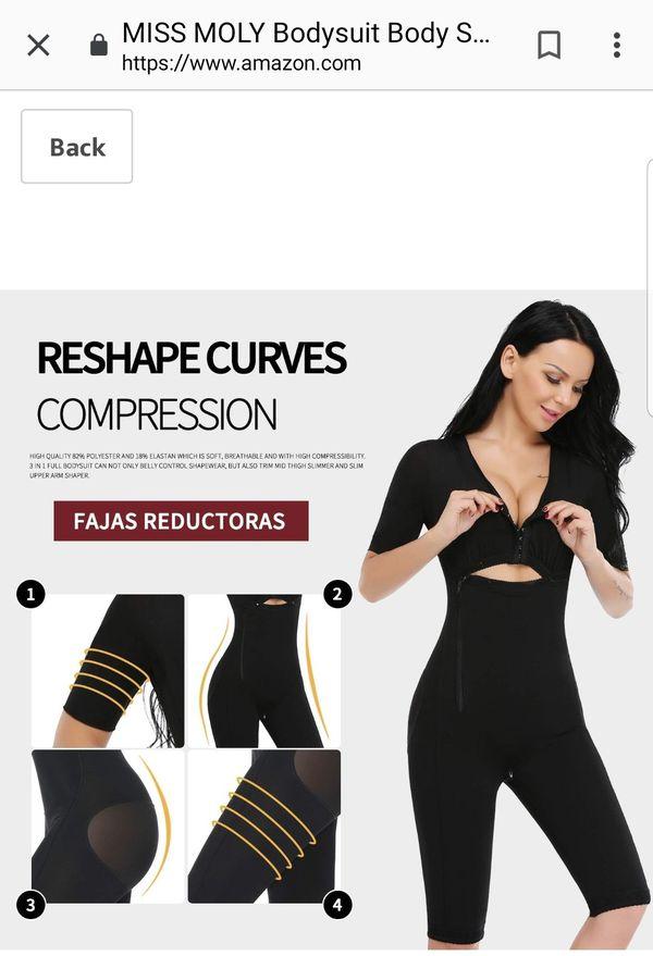 ac5b228f01b6d Bodysuit Body Shaper Post Surgery Seamless Fajas Compression Garment ...