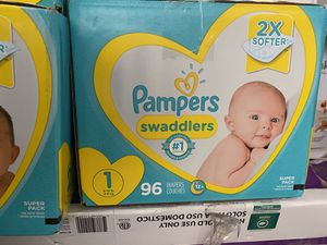 Pampers diapers size 1&2 for Sale in La Puente, CA