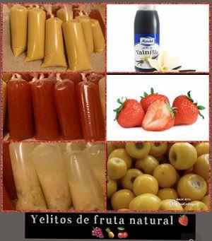 Yelitos de fruta natural $2 dólares cada uno for Sale in Hayward, CA