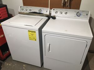 GE Washer and Dryer set for Sale in West Springfield, VA