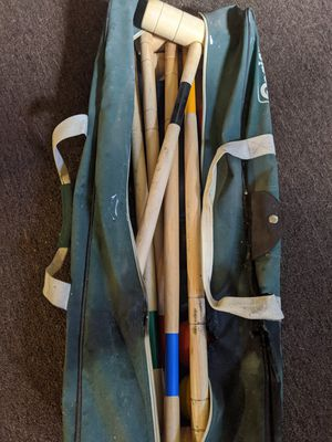 Croquet set for 6 people for Sale in Pawtucket, RI
