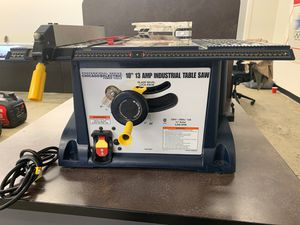 """Chicago electric industrial table saw. 10"""" 13A for Sale in Norwalk, CA"""