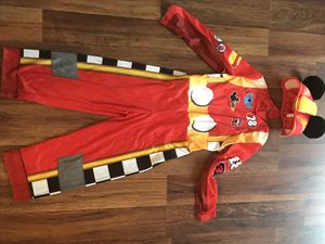 Mickey roadster racer costume 3/4T for Sale in Safety Harbor, FL