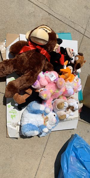 Stuffed/plush animals/toys for Sale in Los Angeles, CA