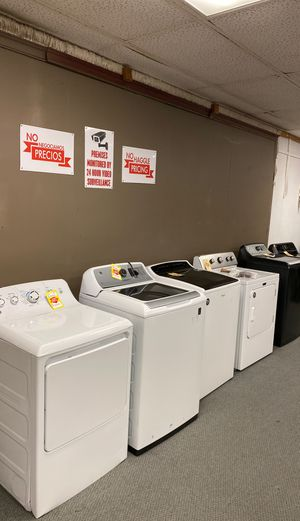 Appliance liquidation event today!!! Washers and dryers must sell!😃😀🙊👍😀😃😃🙊 for Sale in Redondo Beach, CA