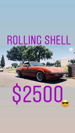 1983 Mazda rx7 GSL (rolling shell) for Sale in Monterey Park, CA