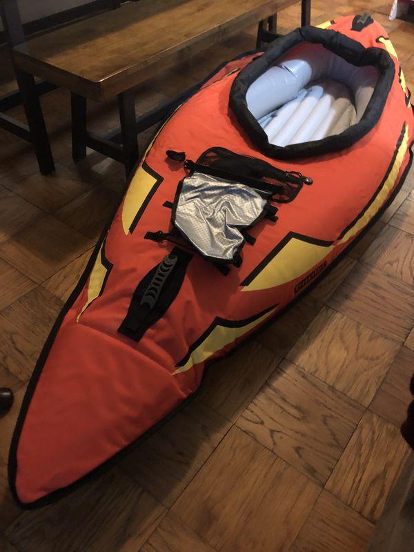 Dragonfly inflatable kayak