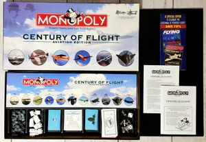 Monopoly Century Of Flight Aviation Edition Board Game 2003 - COMPLETE EXCELLENT for Sale in Harrisonburg, VA