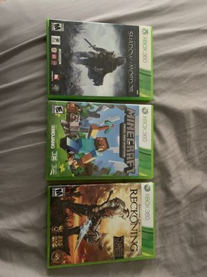 Xbox 360 games for Sale in Burlington, NC