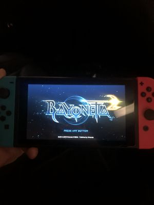 Bayonetta 2 - Nintendo Switch for Sale in Las Vegas, NV