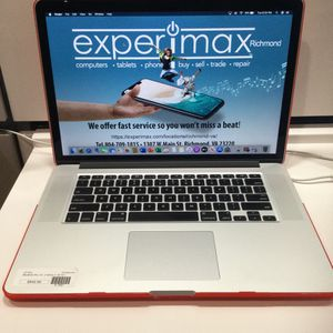 "MacBook Pro 15"", 2.4GHz i7, 8GB, 251GB SSD for Sale in Richmond, VA"