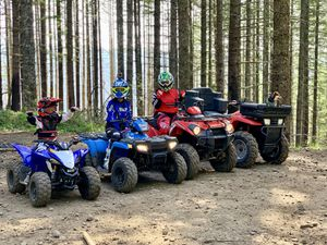 ATVs and enclosed trailer for Sale in Clackamas, OR