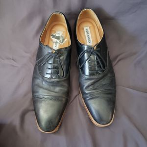 STEVE MADDEN Men's P-Nellow Black Nubuck Casual Dress Lace Up Oxfords Size 13 $30 OBO (retails $90) for Sale in Honolulu, HI