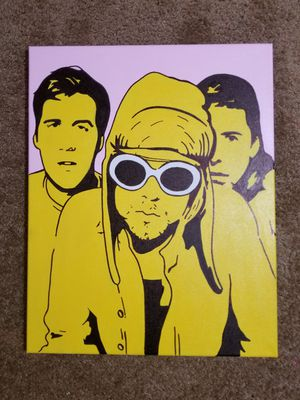 Nirvana Acrylic Hand Painting for Sale in Weehawken, NJ